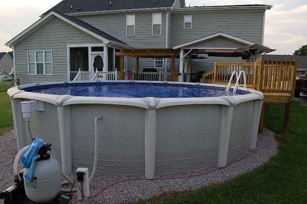 above ground pool landscape designs intex above ground pool pumps pool ideas pinterest. Black Bedroom Furniture Sets. Home Design Ideas