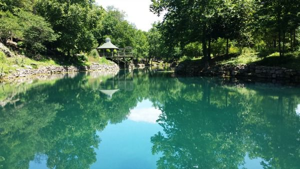 Blue Springs Heritage Center in Eureka Springs Arkansas