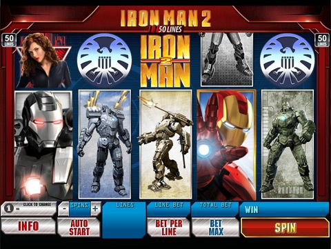 Play Iron Man at Winner Casino
