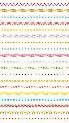 TXT101, a font for patterns