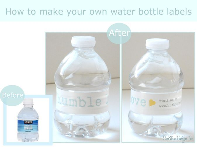1000 images about water bottle labels on pinterest for How to put labels on water bottles