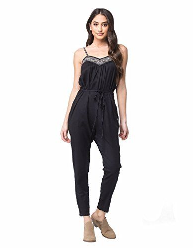 4472838793c Roxy Womens Celestial Sun Solid Pant Romper Anthracite XL    Click image to  review more details. (Note Amazon affiliate link)  Jumpsuits