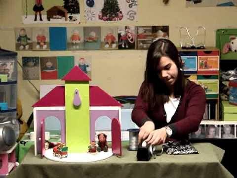 Tik Tak voor de jongste kleuters in het thema Kerstmis.