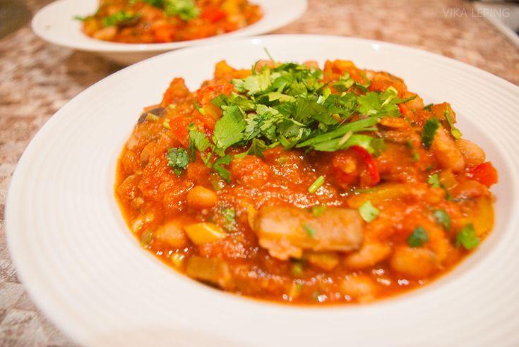Вегетарианское Чили Син Карне: рецепт мексиканской кухни
