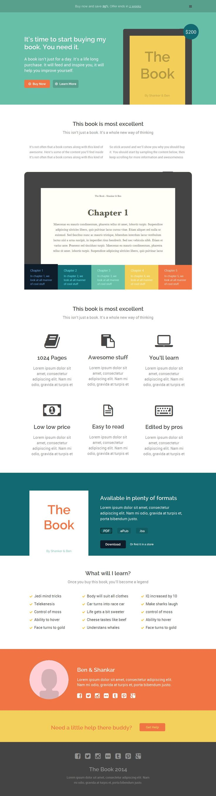 48 best images about Landing Page Templates on Pinterest