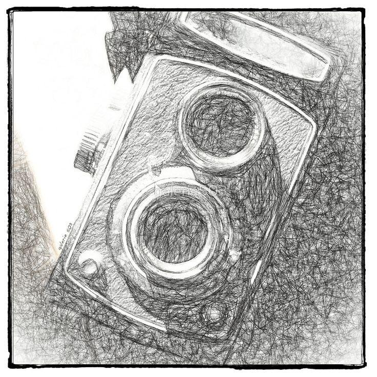 « Vintage Camera - Scketch » par galerie503
