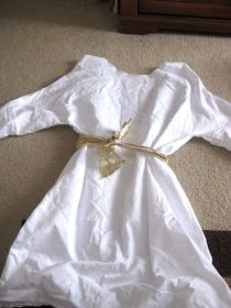 This Little Project: DIY Nativity Costume: Angel (and swaddling clothes)