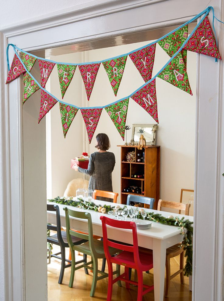 FreeSpirit Christmas bunting                                                                                                                                                                                 More