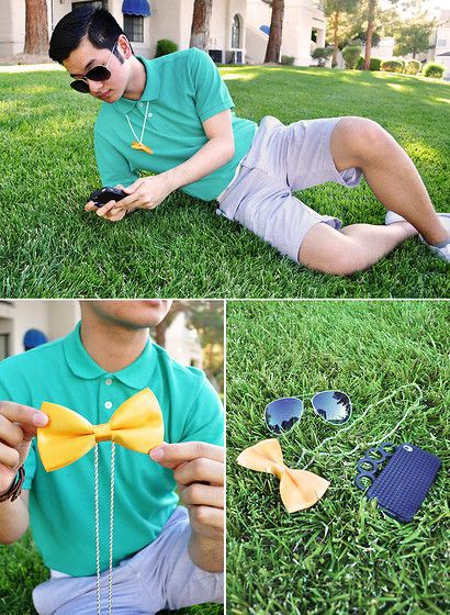 Mr. Bow Tie (by Shawn C.) http://lookbook.nu/look/3650377-Mr-Bow-Tie: Iphone Cases, I Phone
