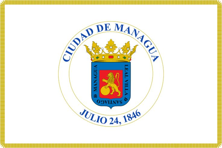 Flag of Managua - City flags - Wikimedia Commons
