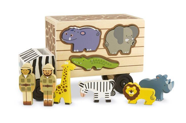 Camion per Soccorso Animali con Forme -Melissa & Doug 15180 da Papers & Dreams a euro 21,90