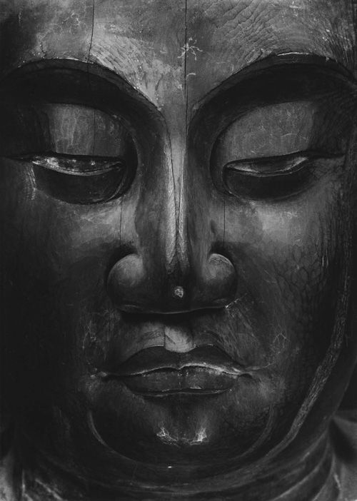 Temple statue. Jingo TeramotoDo Medicine Buddha Statue. Image taken in 1939, Japan, by Ken Domon