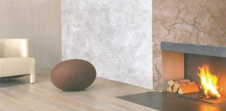 Cebos Color CeboRustik - Textured coating, lime based, expressed in the original crackle effect.
