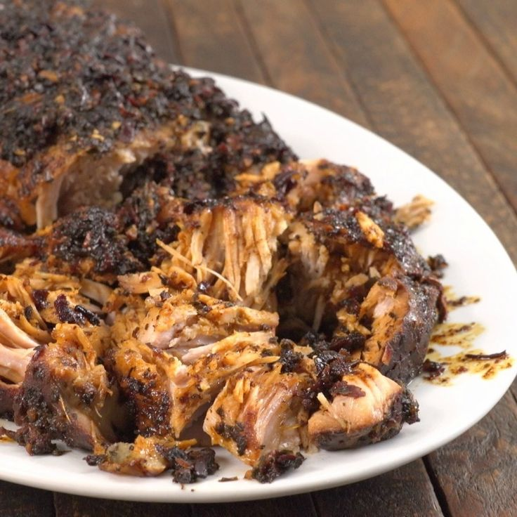When you think of honeyed dishes to enjoy in the fall, what comes to mind? After you watch us make THIS, it'll definitely be a Slow Cooker Honey Pork Roast!