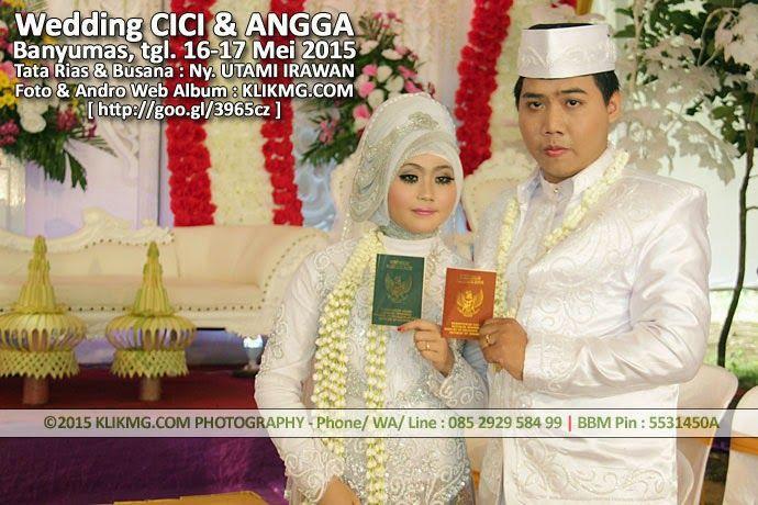 blog.klikmg.com - Rias Pengantin - Fotografi & Promosi Online : Album Foto Online Pernikahan CICI & ANGGA - Hasi t...