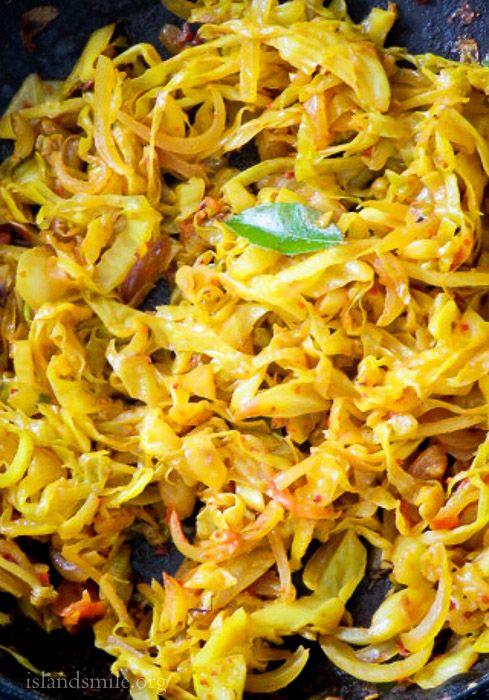 spicy cabbage chilli stir-fry- image