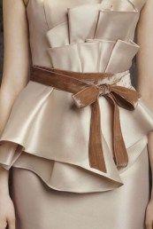 Вера Вонг пояс для свадебного платья бежевого цвета
