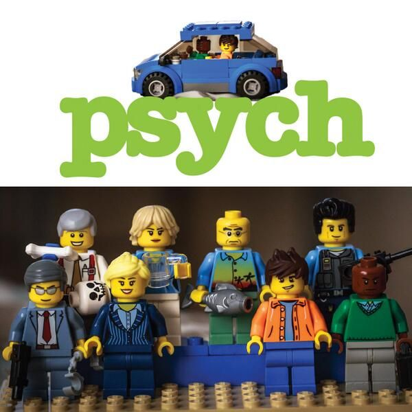 Psych lego set>>that's awesome! (I couldn't resist saying that).