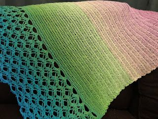 Renske Creatief: Kokon lace sjaal van Vicarno deel 5, hij is af!