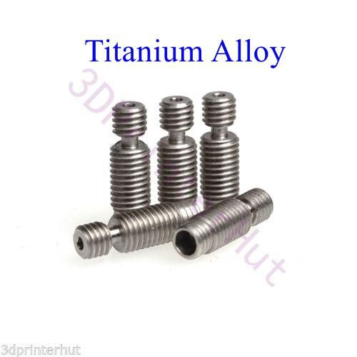 High quality Super smooth titanium alloy V6 heat break TC4