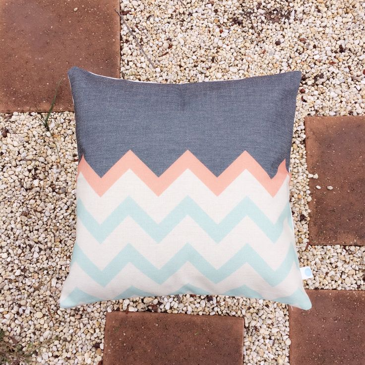 Add a little style to your home with chevron pattern.  Check out our store for more creative cushions www.etsy.com/shop/BluStore  #cushion #design #australia #melbourne #sydney #perth #brisbane #queensland #creative #pillow #lifestyle #etsy #modern #homeware #homedeco #gift #idea #chevron #zigzag #black #blue
