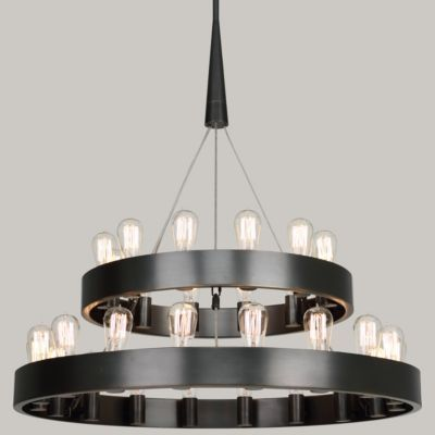 Candelaria 2-Tier Chandelier by Robert Abbey