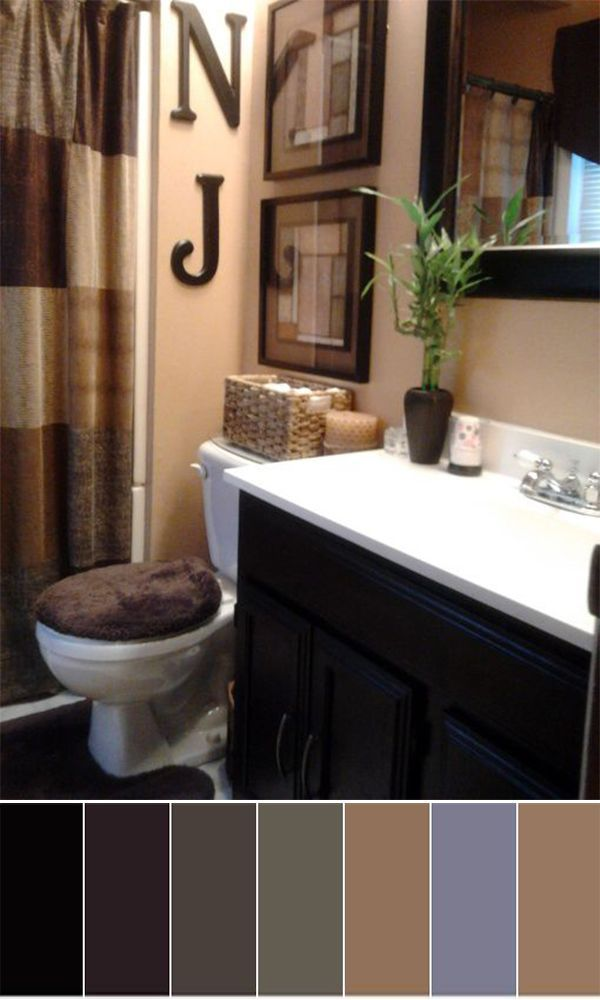 10 Bathroom Color Ideas Paint And Schemes For Tags Small Gray Burgundy