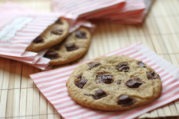 Giant Peanut Butter Cup Cookies