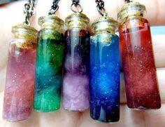 TUTORIAL - Profano Feminino: Bottle Nebula