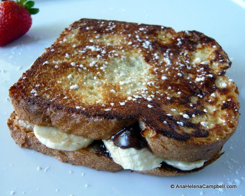 Nutella Stuffed French Toast | Sweet Tooth | Pinterest
