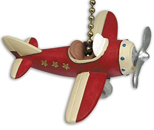 RED PLANE propeller AIRPLANE ceiling FAN PULL chain Clementine http://www.amazon.com/dp/B001DY1UEW/ref=cm_sw_r_pi_dp_yWzBvb0YWMP71