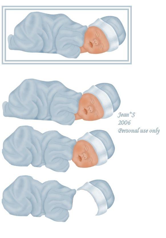 3D baby boy.