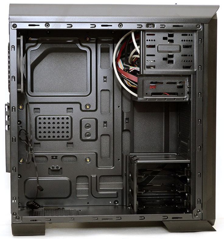 Interior The interior is quite spacious, which is always a good thing. The chassis is quite slim, so you may want to steer clear of particularly large CPU cooling towers; be sure to check dimensions before you order one. The powder black paint job of the exterior continues throughout too, giving the whole thing a …