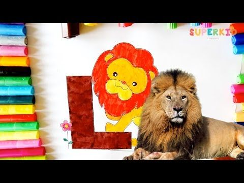 coloring pages animals alphabet youtube - photo#34