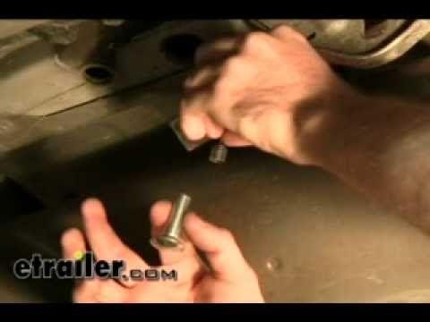 Trailer Hitch Installation - 2001 Subaru Outback Wagon - etrailer.com