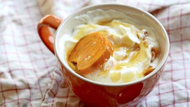 Persimon on vekkuli hedelmä, jota voi käyttää sekä suolaisissa että makeissa ruoissa.