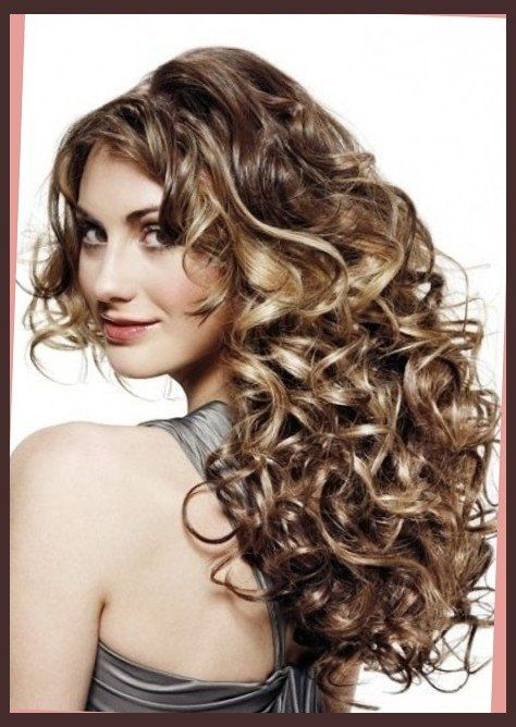 The Elegant hairstyles for long permed hair With regard to Provide ...