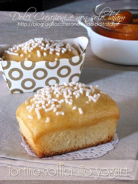 mini plumcake soffici allo yogurt e albicocche