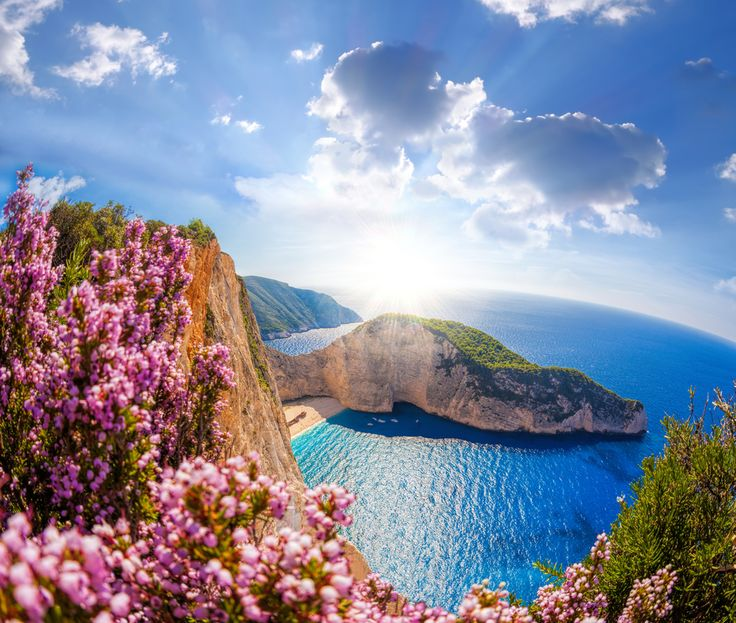 VISIT GREECE| Spring blossom in #zakynthos #visitgreece #greece