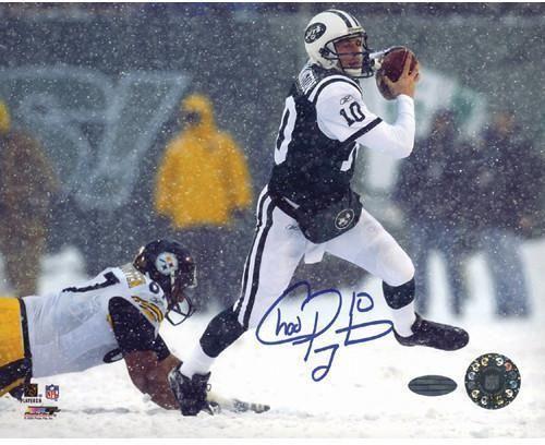 Chad Pennington Snow vs Steelers 8x10