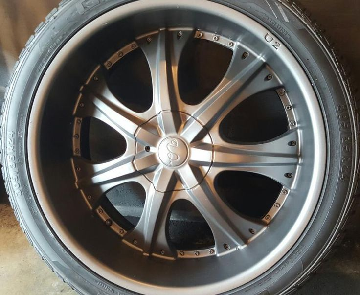 """mydippedwhips - 24"""" Rims Anthracite Grey"""