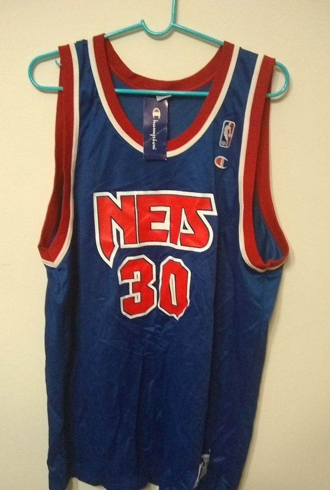 promo code 2dd5c 42f83 Vintage retro throwback New Jersey Nets Kittles 30 NBA ...