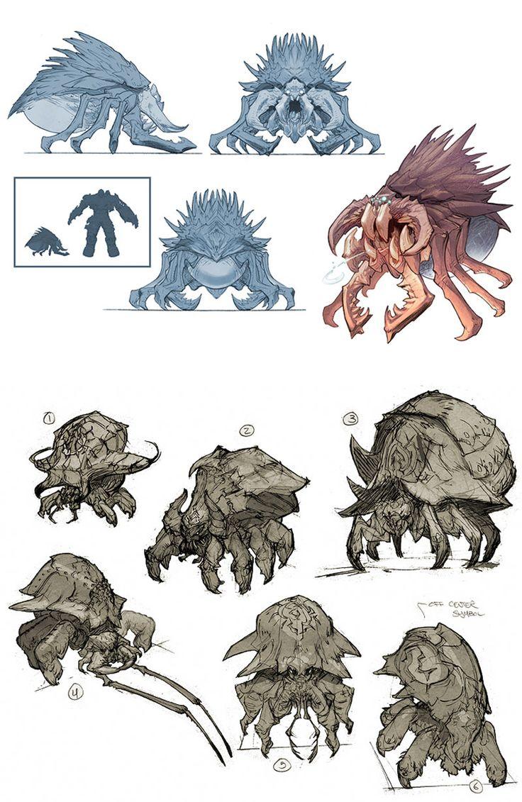 Concept Arts de Darksiders, por Paul Richards | THECAB - The Concept Art Blog