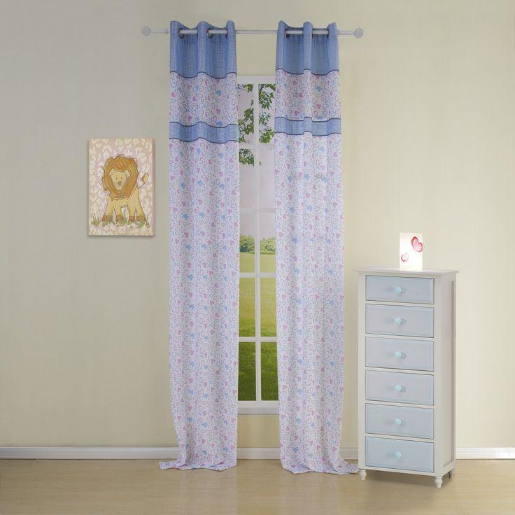 Novelty Country Blue Kids Curtains  #kids #curtains #homedecor #nursery #custommade