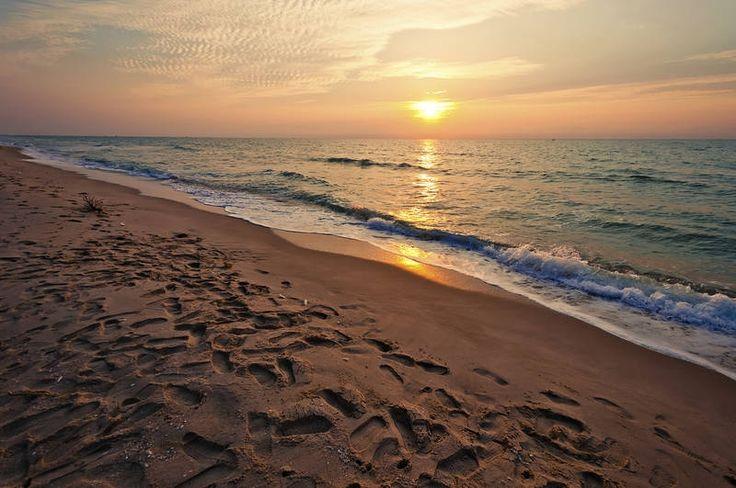 Cha-amin auringonlaskut ovat Thaimaan kauneimpia. #Thailand