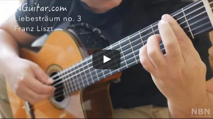 Liebestraum No. 3 - Classical Guitar Online Lesson