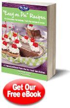 """""""Easy as Pie"""" Recipes: 40 Chocolate Pie Recipes, Fruit Pie Recipes & More Free eCookbook"""