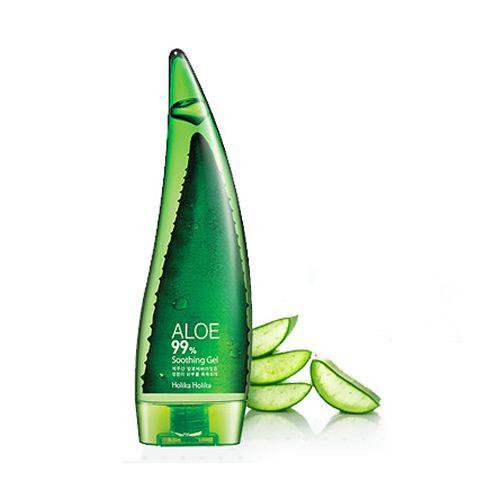 Holika Holika Aloe 99% Soothing Gel Wielofunkcyjny żel aloesowy 250ml | CIAŁO \ Pielęgnacja TWARZ \ pielęgnacja twarzy \ kremy do twarzy DOMOWE SPA \ AZJATYCKA PIELĘGNACJA \ KREMY I SERUM | Minti Shop