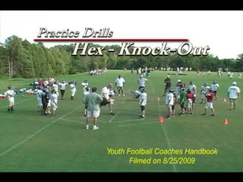 GREAT DRILL VIDEO - Hex Drive Blocking Knock Out Drill - Youth Football ...