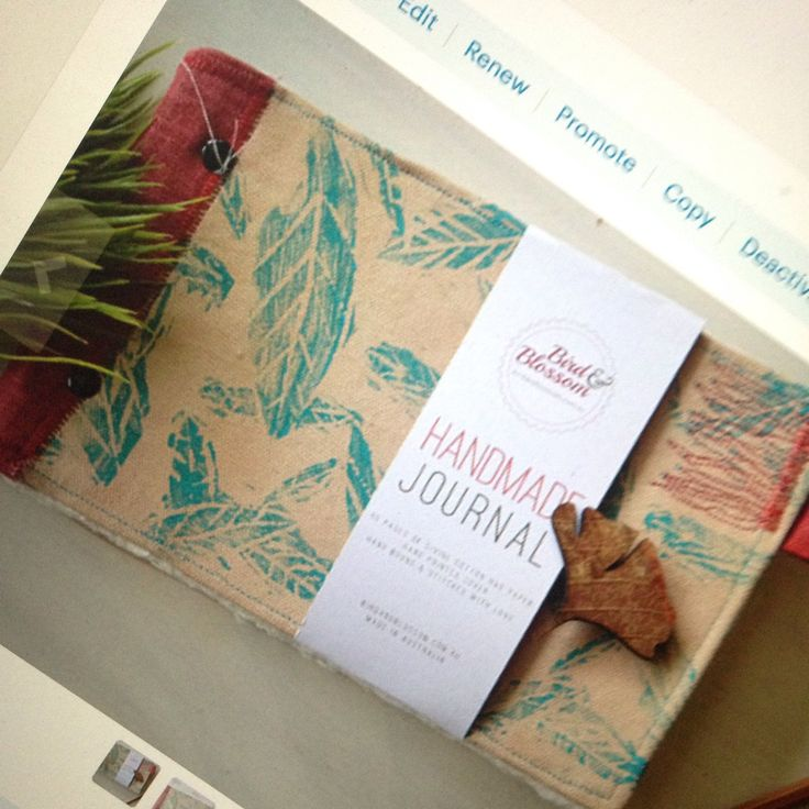 We've just listed some gorgeous new handmade journals to our store. Get yours now by clicking the link.